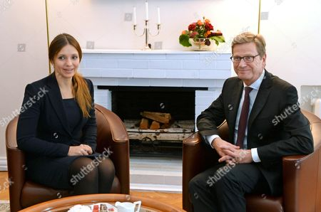 Editorial image of Ukraine Westerwelle Visit - Oct 2013