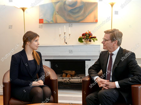 Editorial photo of Ukraine Westerwelle Visit - Oct 2013