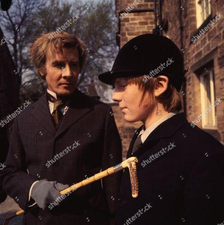 Richard Gale (as Sir Tarquin Stilgoe) and Philip Maskery (as David Stilgoe)
