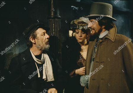 Gerry Cowan (as Jacklin Flaxton) and Reg Lye (as Addison)
