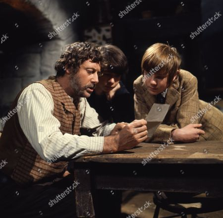 Victor Winding (as Barnaby Sweet), (Dai) David Bradley (as Peter Weekes) and Philip Maskery (as David Stilgoe)