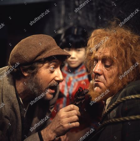 Stock Photo of Victor Winding (as Barnaby Sweet) and Pik Sen Lim (as Su Ling) Bryan Pringle (as Crazy Will)