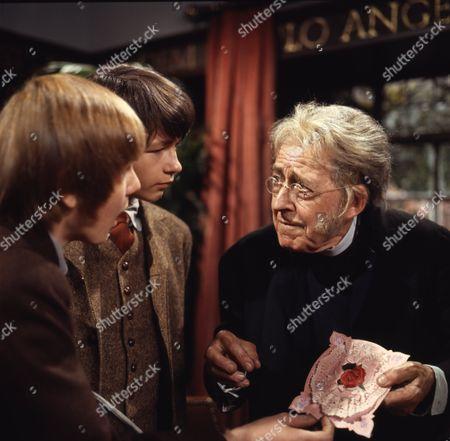 Richard Goolden (as Albert), (Dai) David Bradley (as Peter Weekes) and Philip Maskery (as David Stilgoe)