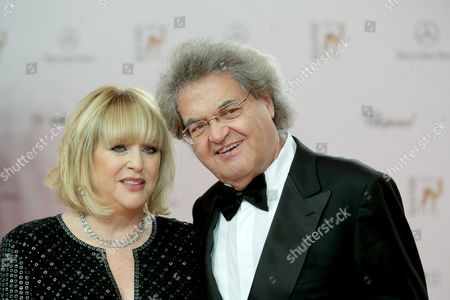 Chief Editor of Magazine Bunte Patricia Riekel and Focus Publisher Helmut Markwort Arrive For the 65th Bambi Award Ceremony at the Stage Theater in Berlin Germany 14 November 2013 the Burda Media Prize Will Be Awarded in 17 Categories at the Stage Theater in Berlin on 14 November 2013 Germany Berlin