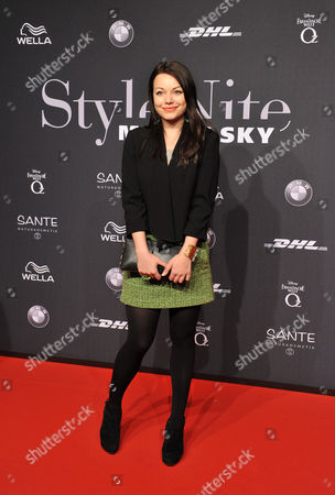 Stock Photo of German Actress Cosma Shiva Hagen Attends the Michael Michalsky Presentation 'Stylenite' During the Mercedes-benz Fashion Week in Berlin Germany 18 January 2013 the Presentation of the Fall-winter 2013/2014 Collections Takes Place From 15 to 18 January Germany Berlin