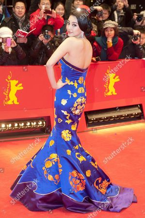 Chinese Actress Zhang Yuqi Arrives For the Premiere of 'White Deer Plain (bai Lu Yuan)' During the 62nd Berlin International Film Festival in Berlin Germany 15 February 2012 the Movie is Presented in Competition at the 62nd Berlinale That Runs From 09 to 19 February Germany Berlin
