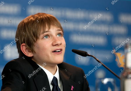 Us Actor Thomas Horn Attends a Press Conference For 'Extremely Loud and Incredibly Close' During the 62nd Berlin International Film Festival in Berlin Germany 10 February 2012 the Movie is Presented in Competition (out of Competition) at the 62nd Berlinale That Runs From 09 to 19 February Germany Berlin