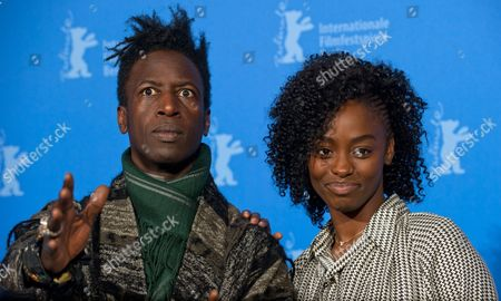 Senegal-born French Actress Aissa Maiga (r) and Us Actor Saul Williams Pose at a Photocall For 'Tey' (aujourd'hui) During the 62nd Berlin International Film Festival in Berlin Germany 10 February 2012 the Movie is Presented in Competition at the Berlinale That Runs From 09 to 19 February Germany Berlin
