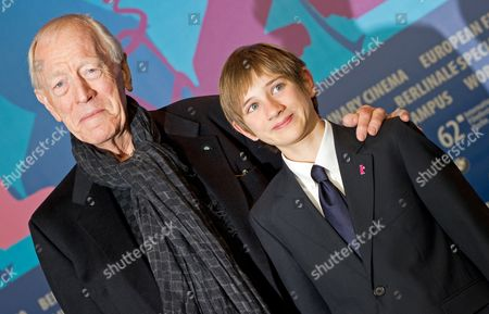 Swedish-born Actor Max Von Sydow (l) and Us Actor Thomas Horn Attend a Press Conference For 'Extremely Loud and Incredibly Close' During the 62nd Berlin International Film Festival in Berlin Germany 10 February 2012 the Movie is Presented in Competition (out of Competition) at the 62nd Berlinale That Runs From 09 to 19 February Germany Berlin