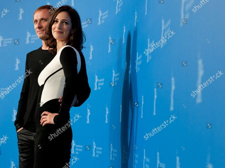 Bosnian-serb Actor Goran Kostic (l) and Bosnian Actress Zana Marjanovic (r) Pose During the Photocall For the Movie 'In the Land of Blood and Honey' During the 62nd Berlin International Film Festival in Berlin Germany 11 February 2012 the Movie is Presented in the Section Berlinale Special at the 62nd Berlinale Running From 09 to 19 February Germany Berlin