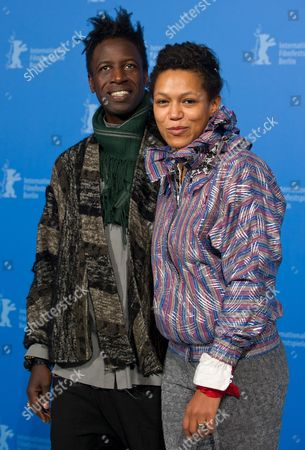 Rwandan Actress Anisia Uzeyman (r) and Us Actor Saul Williams Pose at a Photocall For 'Tey' (aujourd'hui) During the 62nd Berlin International Film Festival in Berlin Germany 10 February 2012 the Movie is Presented in Competition at the Berlinale That Runs From 09 to 19 February Germany Berlin