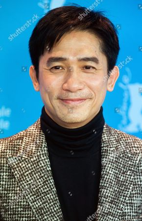 Chinese Actor Tony Leung Chiu Wai Poses at the Photocall For 'The Grandmaster' (yi Dai Zong Shi) During the 63rd Annual Berlin International Film Festival in Berlin Germany 07 February 2013 the Movie Has Been Selected As the Opening Film For the Berlinale and is Running in the Offical Section out of Competion the Film Festival Runs From 07 to 17 February Germany Berlin