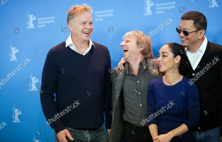 Part of the International Jury with (l-r) Actor Tim Robbins (usa) Director Andreas Dresen (germany) Director Shirin Neshat (iran) and Jury President and Director Wong Kar Wai (china/hong Kong) Pose at a Photocall During the 63rd Annual Berlin International Film Festival in Berlin Germany 07 February 2013 the Berlinale Runs From 07 to 17 February Germany Berlin