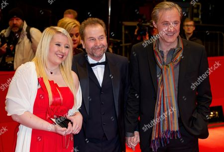 Austrian Director Ulrich Seidl (c) and Actors Melanie Lenz and Joseph Lorenz Arrive For the Premiere of Their Movie 'Paradise: Hope' (paradies: Hoffnung) During the 63rd Annual Berlin International Film Festival in Berlin Germany 08 February 2013 the Movie is Presented in Competition at the Berlinale Running From 07 to 17 February Germany Berlin