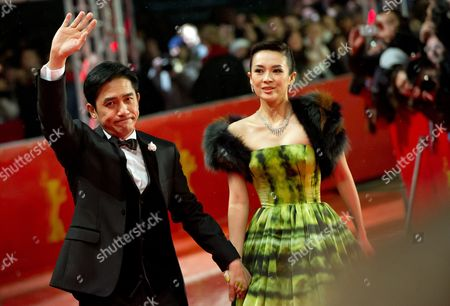 Chinese Actors Zhang Ziyi (r) and Tony Leung Chiu Wai Arrive For the Premiere of 'The Grandmaster' (yi Dai Zong Shi') During the 63rd Annual Berlin International Film Festival in Berlin Germany 07 February 2013 the Movie Has Been Selected As the Opening Film For the Berlinale and is Presented in the Offical Section out of Competion the Film Festival Runs From 07 to 17 February Germany Berlin