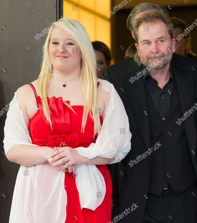 Actress Melanie Lenz (l) and Austrian Director Ulrich Seidl Arrive at a Photocall For 'Paradise: Hope' (paradies: Hoffnung) During the 63rd Annual Berlin International Film Festival in Berlin Germany 08 February 2013 the Movie is Presented in Competition at the Berlinale Running From 07 to 17 February Germany Berlin