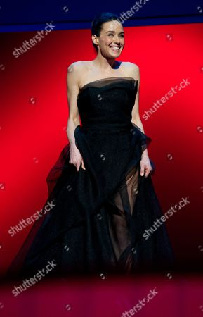 Kosovar Actress and Shooting Star 2013 Arta Dobroshi Attends the Shooting Star 2013 Award Ceremony During the 63rd Annual Berlin International Film Festival in the Berlinale Palace in Berlin Germany 11 February 2013 the Berlinale Runs From 07 to 17 February Germany Berlin