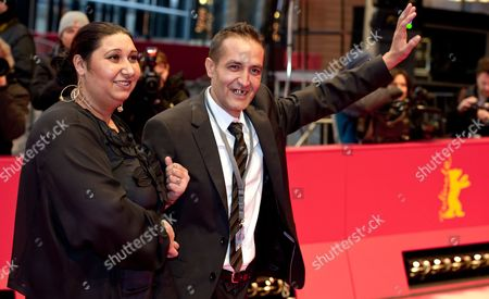Actors Nazif Mujic (r) and Senada Alimanovic Arrive For the Premiere of the Movie 'An Episode in the Life of an Iron Picker' ('epizoda U Zivotu Beraca Zeljeza') During the 63rd Annual Berlin International Film Festival in Berlin Germany 13 February 2013 the Movie is Presented in Competition at the Berlinale Germany Berlin
