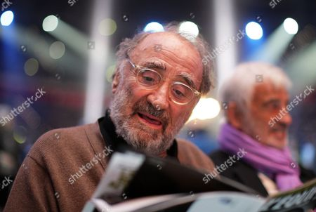 French Actor Claude Brasseur Attends the Heavyweight Championship Fight Between Wladimir Klitschko of of Ukraine and His French Challenger Jean Marc Mormeck at the Esprit Arena in Duesseldorf Germany 03 March 2012 Germany Düsseldorf