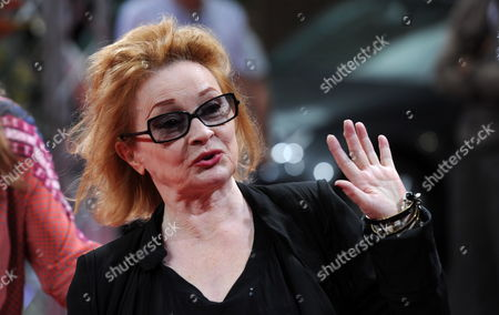 Stock Image of German Singer and Actress Ingrid Caven Attends an Homage to Late German Film Director Rainer Fassbinder at Gasteig During the Munich Film Festival 02 July 2012 the Festival Runs Until 07 July 2012 Germany Munich
