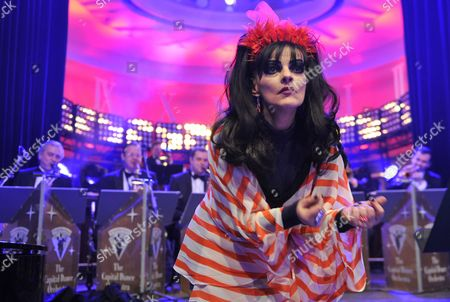 German Singer and Actress Nina Hagen Performs at the Opening Party of the Fashion Fair 'Bread & Butter' at the Goya Club in Berlin Germany Late 14 January 2013 the Presentations of the Autumn/winter 2013/2014 Collections Take Place From 15 to 17 January 2013 Germany Berlin