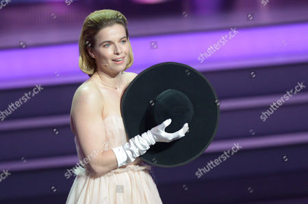 Dutch Actress Thekla Reuten on Stage During the Ceremony of the 63rd German Film Awards in Berlin Germany 26 April 2013 Germany Berlin