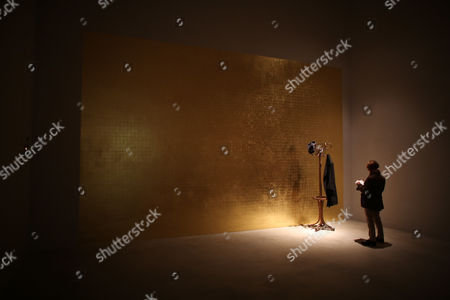 A Woman Looks at an Installation by Greek-born Artist Jannis Kounellis at the Kolumba Museum in Cologne Germany 18 November 2013 the Kolumba Museum of the Archdiocese of Cologne Has Been Named Museum of the Year by Art Critics Germany Cologne