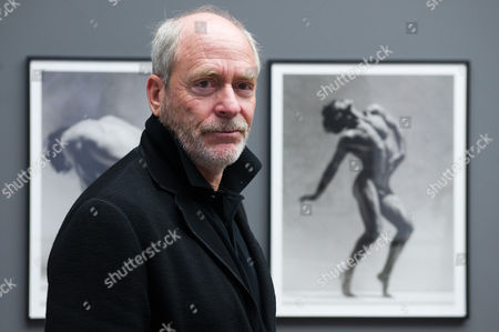 Us Photographer Greg Gorman Poses in His Exhibition 'Greg Gorman: Men' at the Museum of Photography in Berlin Germany 31 October 2013 the Exhibition Runs Until 25 April 2014 Germany Berlin