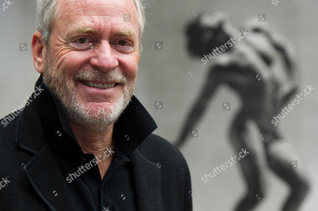 Stock Photo of Us Photographer Greg Gorman Poses in His Exhibition 'Greg Gorman: Men' at the Museum of Photography in Berlin Germany 31 October 2013 the Exhibition Runs Until 25 April 2014 Germany Berlin