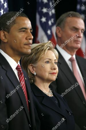 Editorial image of US President-elect Barack Obama announces his National Security team, Chicago, America - 01 Dec 2008