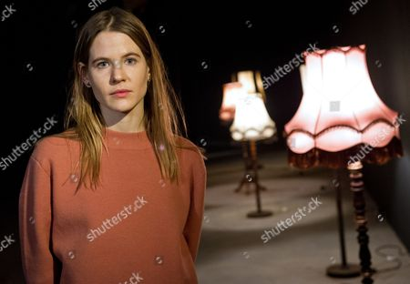 Aino Laberenz Widow of Late German Artist Christoph Schlingensief Attends a Press Conference About the First Large Retrospective of Her Deceased Husband's Work in Berlin ágermany 29ánovember 2013 Germany Berlin