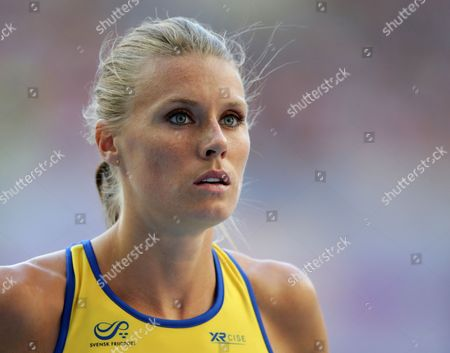 Emma Green Tregaro of Sweden During the Women's High Jump Final at the 14th Iaaf World Championships at Luzhniki Stadium in Moscow Russia 17 August 2013 Russian Federation Moscow