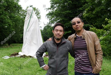 A Big Sculpture by Thai Artists Chai Siri (l) and Apichatpong Weerasethakul (r) Stands in the Auepark Before the Opening of Documenta 13 in Kassel Germany 05 June 2012 the Sculpture is Part of Documenta 13 Which Will Kick Off on 09 June Germany Kassel