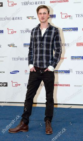 Danish Actor Mikkel Boe Folsgaard Poses at a Photocall of the Shooting Star 2013 Presented by the European Film Promotion (efp) During the 63rd Berlin Film Festival Aka Berlinale in the Hotel De Rome in Berlin Germany 10 February 2013 Germany Berlin