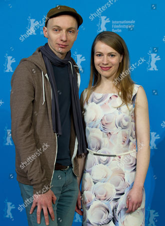 German Director Dietrich Brueggeman (l) and His Sister Scriptwriter Anna Brueggemann Pose During the Photocall 'Kreuzweg' (stations of the Cross) at the 64th Annual Berlin Film Festival in Berlin Germany 09 February 2014 the Movie is Presented in the Official Competition of the Berlinale Which Runs From 06 to 16 February 2014 Germany Berlin