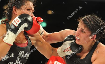 Editorial image of Germany Boxing Woman - May 2014