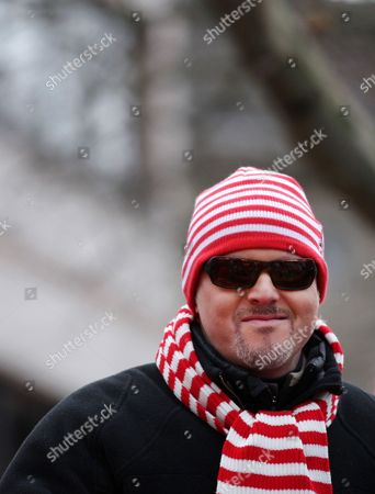 Stock Photo of German Television Host and Entertainer Stefan Raab Rides on a Theme Float During the Rose Monday Parade in Cologne Germany 11 February 2013 the Carnival Reaches Its Pinnacle with the Traditional Rose Monday Parades in the Rhenish Carnival Strongholds Germany Cologne