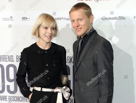 Irish Actress Antonia Campbell-hughes (l) and Danish Actor Thure Lindhardt (r) Arrive For the Premiere of '3096 Days' (3096 Tage) at the Mathaeser Filmpalast in Munich Germany 26 February 2013 the Movie Based on the Life of Austrian Natascha Kampusch Opens in German Theaters on 28 February Kampusch was Kidnapped at the Age of Ten and Held in a Cellar For Over Eight Years Germany Munich