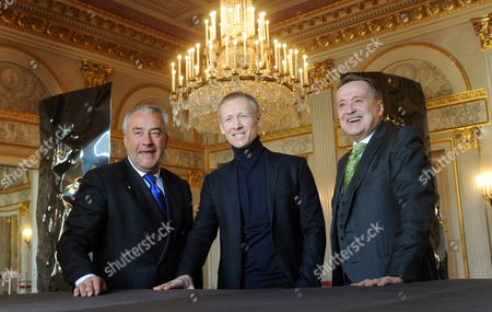 (l-r) Bavarian Minister of Education and Culture Ludwig Spaenle (csu) Future Director of the Bavarian State Balett Igor Selenski and Artistic Director of the Bavarian State Opera Nikolaus Bachler Pose For the Media at the State Opera Before a Press Conference in Munich Germany 03 April 2014 Zelensky Will Assume His New Position on 01 September 2016 Germany Munich