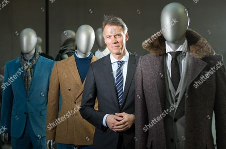 Hugo Boss Chairman of the Managing Board Claus-dietrich Lahrs Poses During the Financial Statement Press Conference in the Headquarters of the German Fashion House in Metzingen Germany 13 March 2013 Hugo Boss Will Present Its 2013 Results on 13 March Germany Metzingen