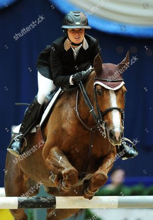 Reed Kessler of the Usa on 'Cylana' Competes in the Munich Indoors Show Jumping Event As Part of the Riders Tour in Munich ágermany 02 November 2013 Kessler Won the Event Germany Munich
