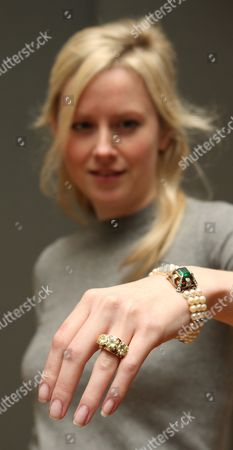Editorial picture of Auction of jewellery owned by Hollywood actress,  Deborah Kerr, Bonhams, London,Britain - 02 Dec 2008