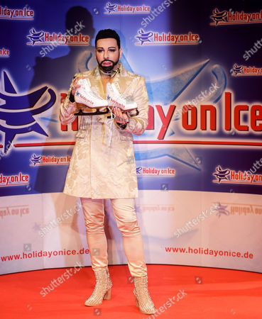 Fashion Designer Harald Gloockler Poses at a Press Conference For the New Holiday on Ice Show 'Platinum' in Hamburg Germany 19 September 2013 He Designed a Few Costumes For the Show It Will Premiere on 21 November 2013 in Grefrath and Then Go on Tour to 14 Cities in Germany Germany Hamburg