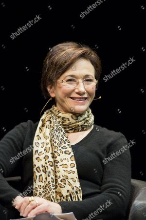 Us Writer Elizabeth George Smiles Onstage Durind a Reading of Her Book 'Believing the Lie' at the Lit Cologne in Cologne Germany 14 March 2013 the Literature Festival Runs Until 16 March Germany Cologne