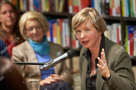 German Director and Writer Jenny Erpenbeck Reads at a Book Store in Koblenz Germany 19 September 2013 Erpenbeck Will Receive the Literary Joseph Breitbach Prize Endowed with 50 000 Euros on 20 September Germany Koblenz