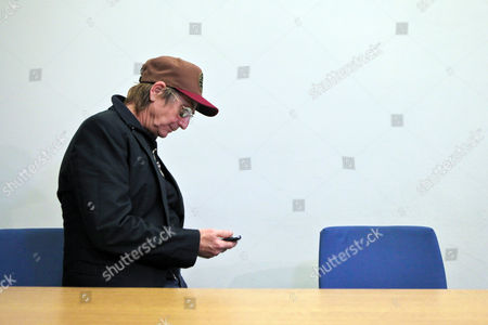 German Actor Martin Semmelrogge Appears at the Regional Court in Nuremberg Germany 28 November 2012 He is Accused of Driving Without Driver's License Germany Nuremberg