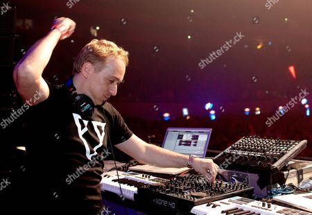 Dj Paul Van Dyk Performs at the Mayday 2012 Techno Event on the Eve of May Day at Westfalenhalle Dortmund Germany Late 30 April 2012 Germany Dortmund