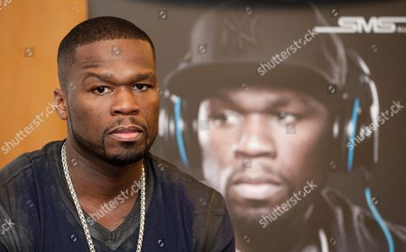 Us Rapper Curtis James Jackson Iii Aka 50 Cent Gives a Press Conference During the Presentation of New Headphones by Manufacturer 'Sms' at the International Radio Exhibition (ifa) 2012 in Berlin Germany 30 August 2012 the Ifa One of the World's Leading Exhibitions For Consumer Electronics Opens Its Gates on 31 August and Will Last Until 05 September 2012 at the Fairground Around Berlin's Old Radio Tower Germany Berlin