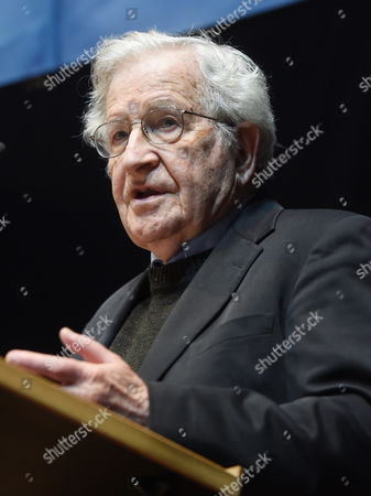 Editorial image of Germany People Chomsky - May 2014