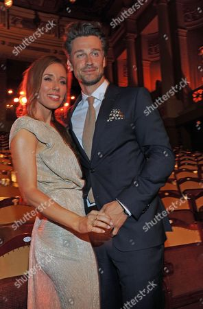 A Picture Made Available on 24 May 2014 Shows German Actor Wayne Carpendale and His Wife Tv Moderator Annemarie Warnkross During the Bavarian Television Awards 2014 Ceremony in Munich Germany 23 May 2014 the Awards Are Presented Since 1989 Germany Munich
